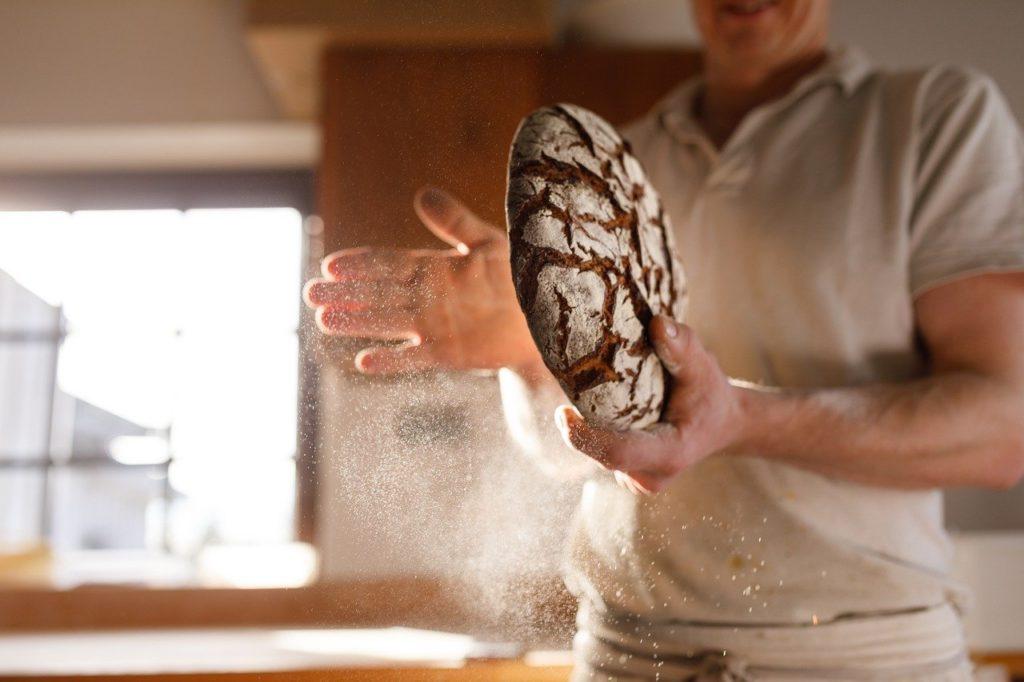 baker, bread, bake